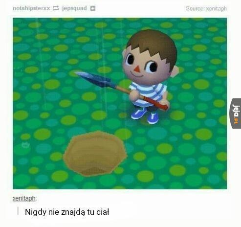 Animal Crossing jest całkiem brutalne