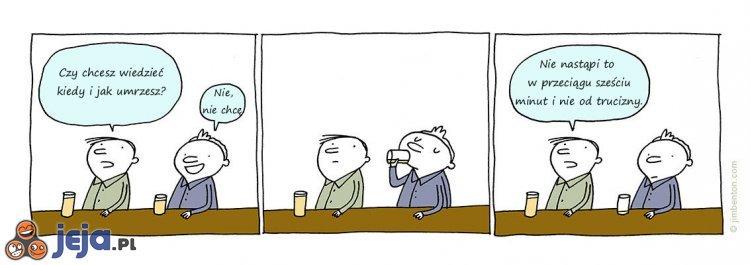 Pogawędka przy barze