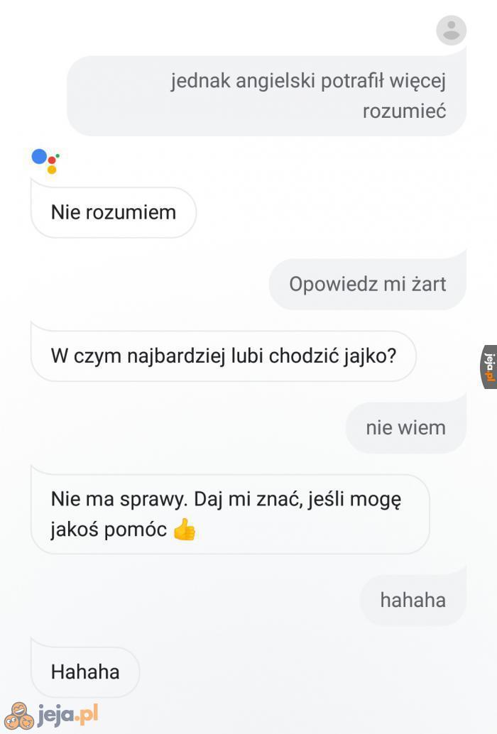 Polskiemu asystentowi daleko do doskonałości...