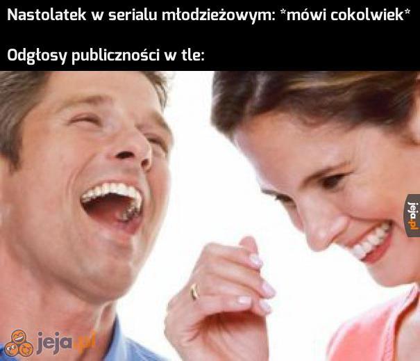 Ale to było zabawne! Ten wybuch śmiechu był totalnie uzasadniony!
