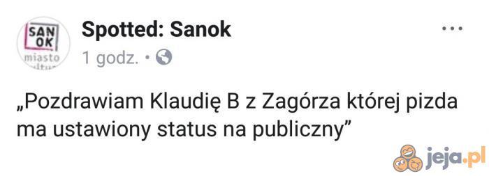 Pozdrowienia z Sanoka