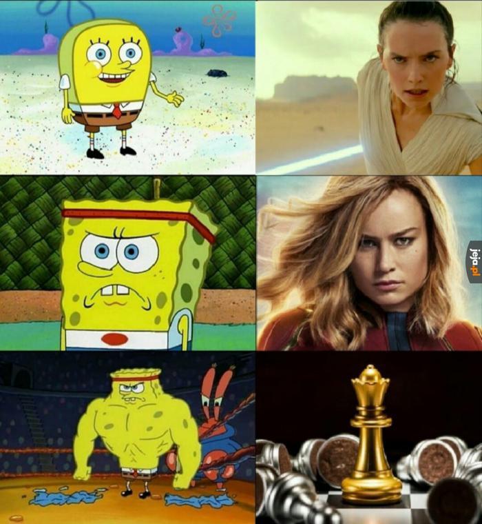 Najpotężniejsze kobiece postacie