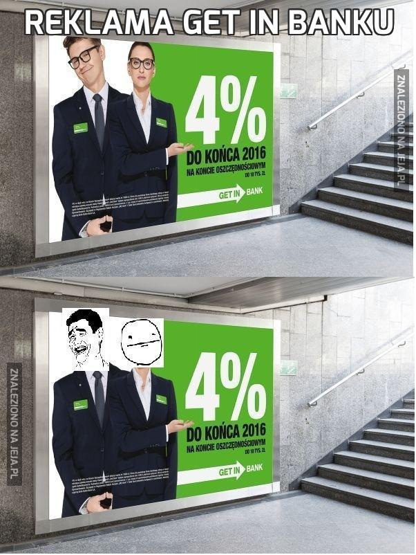 Reklama get in banku