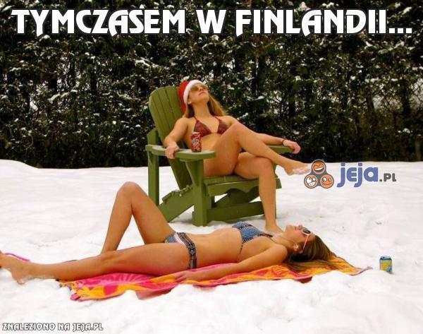 Tymczasem w Finlandii...