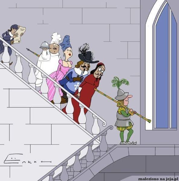 Niebezpieczeństwo na dworze króla