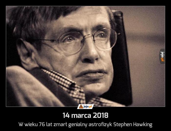 14 marca 2018