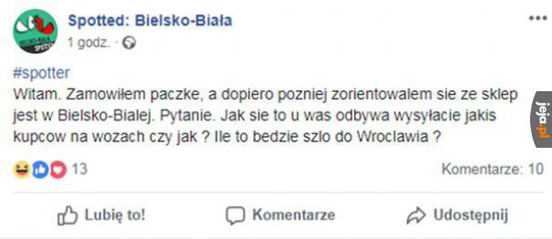 W Bielsku-Białej jak na Podlasiu