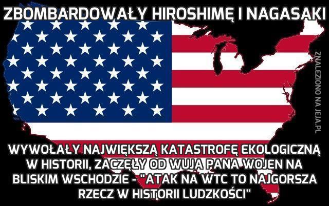 Zbombardowały Hiroshimę i Nagasaki