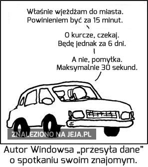 Przesyłanie danych w Windowsie