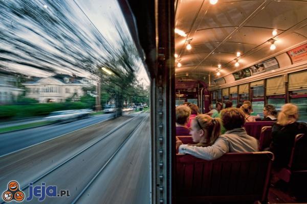 Perspektywa - pociąg vs rzeczywistość
