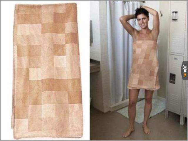 Ręcznik z cenzurką