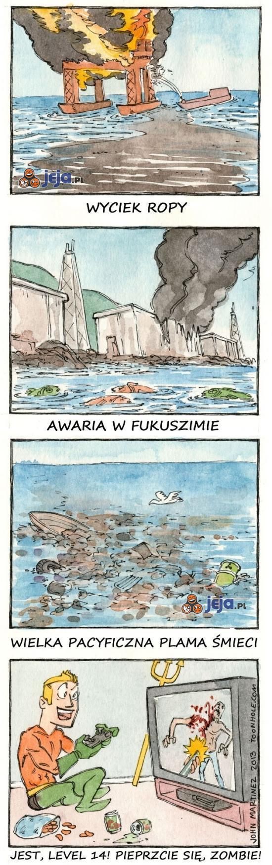 Gdzie jest Aquaman?