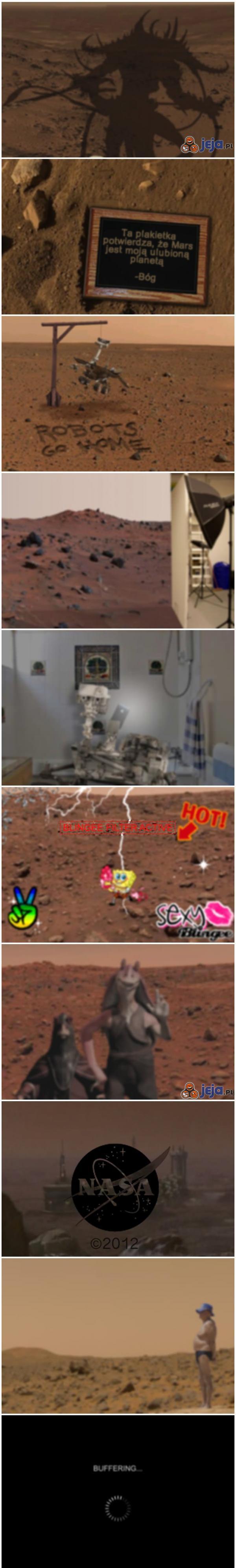 Najgorsze możliwe zdjęcia z Marsa