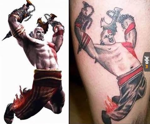 Na tatuażach się nie oszczędza