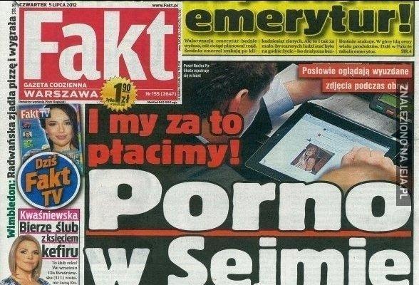 Sejm w Fakcie