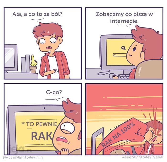 Internet to najlepszy lekarz
