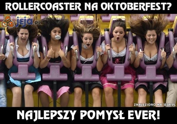 Rollercoaster na Oktoberfest?