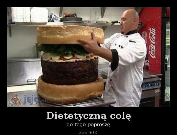 Dietetyczną colę