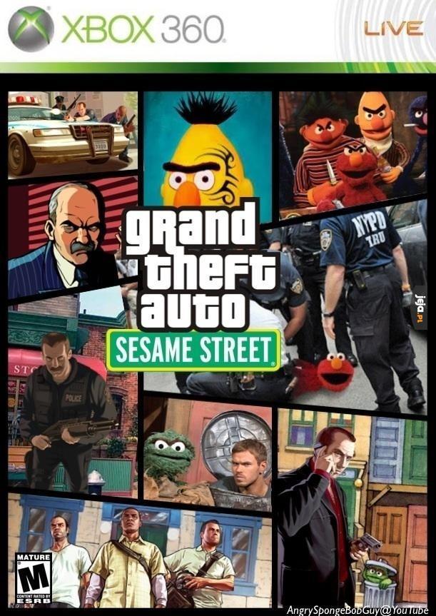 GTA: Ulica Sezamkowa