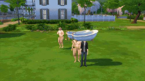 Taki tam błąd w Simsach
