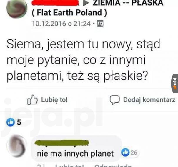 Kosmos? Jaki kosmos?