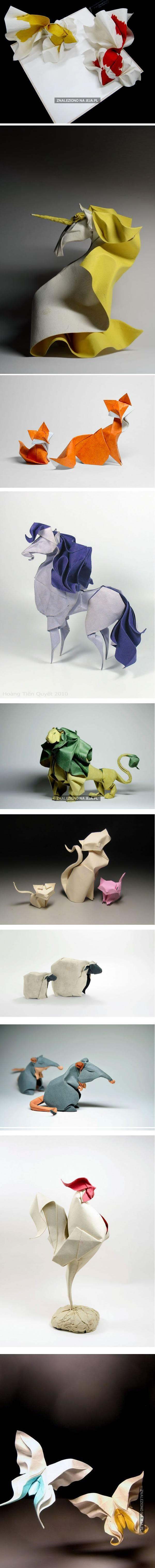 Zwierzęce origami