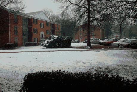 Co się dzieje, kiedy spada 30 cm śniegu