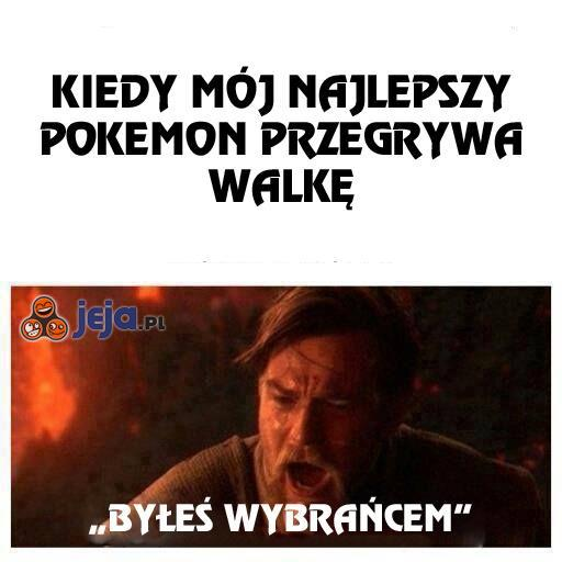 Kiedy mój Pokemon przegrywa