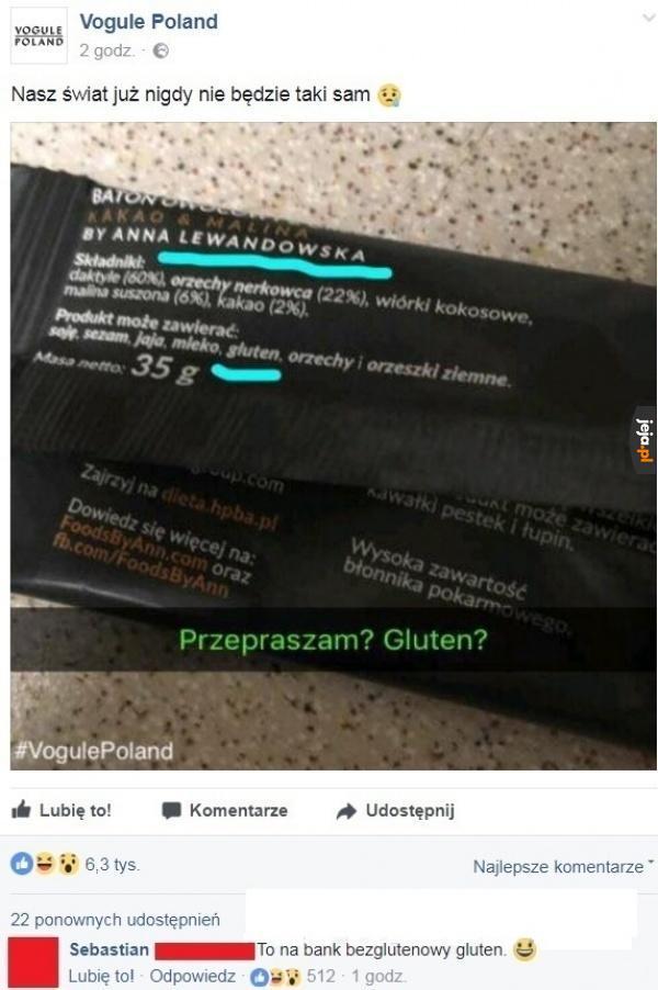Bezglutenowy gluten