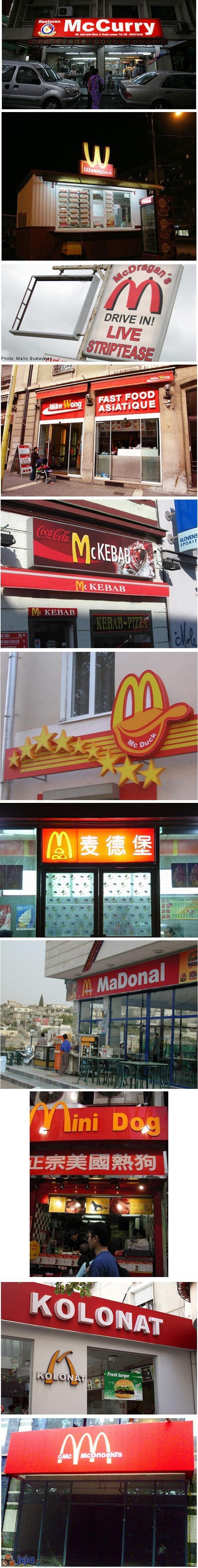 Podróbki McDonalda