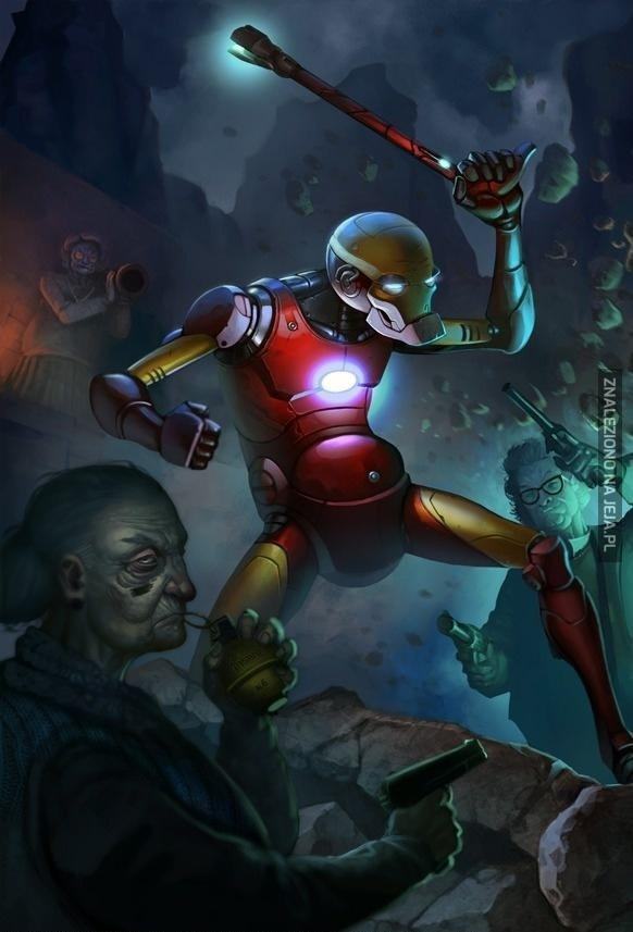Iron Man na emeryturze