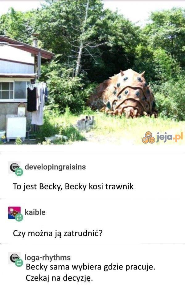 Poznajcie Becky
