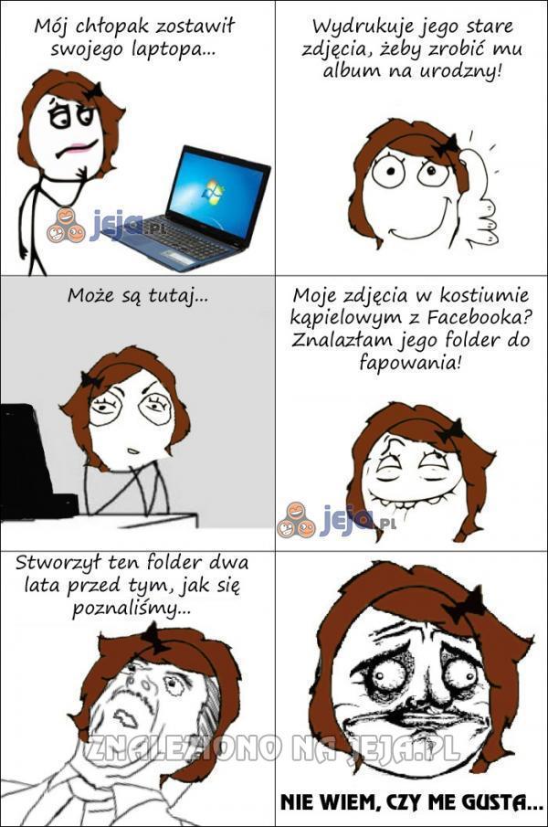 Trzymaj się z dala od komputera chłopaka