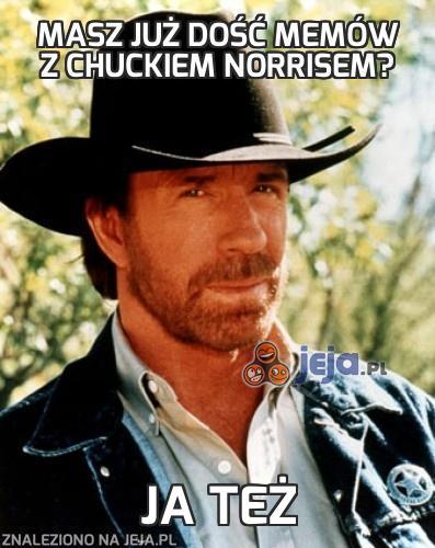 Masz już dość memów z Chuckiem Norrisem?
