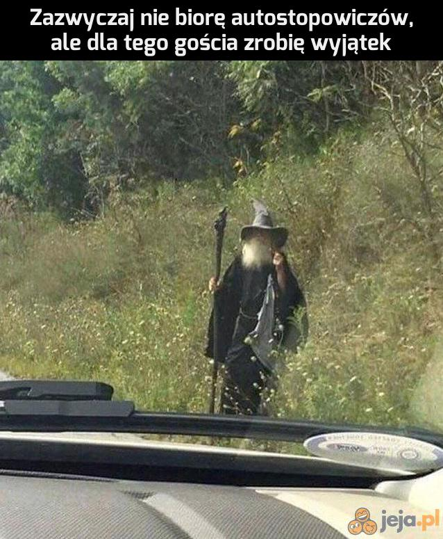 Gandalf, to Ty?