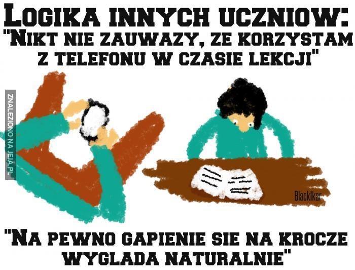 Logika uczniów