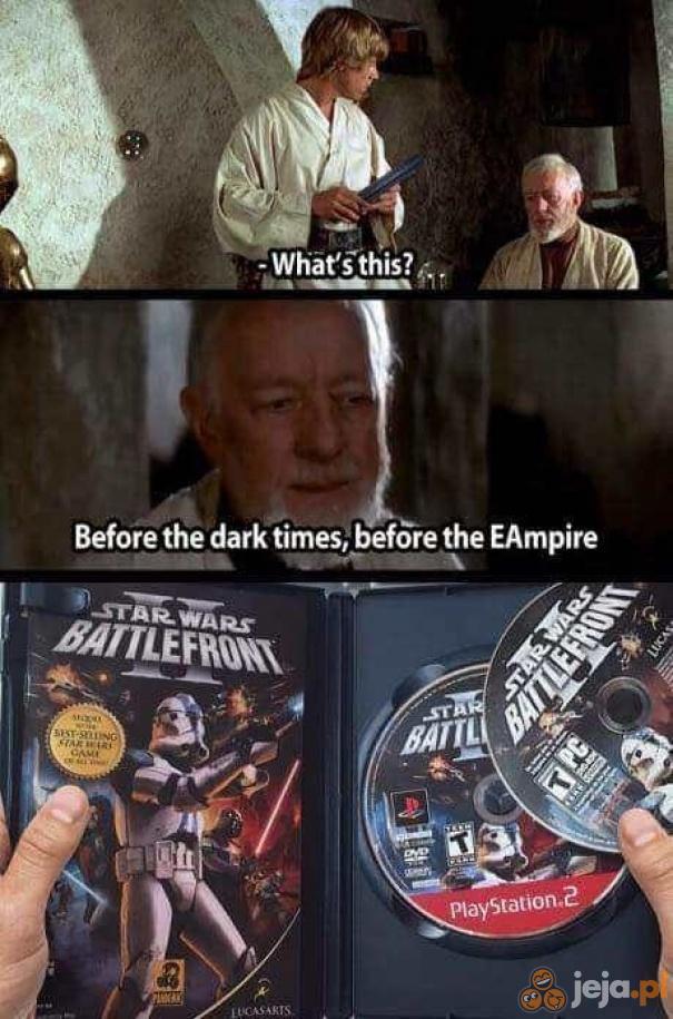 Zobacz, Luke, co Twój miszcz znalazł