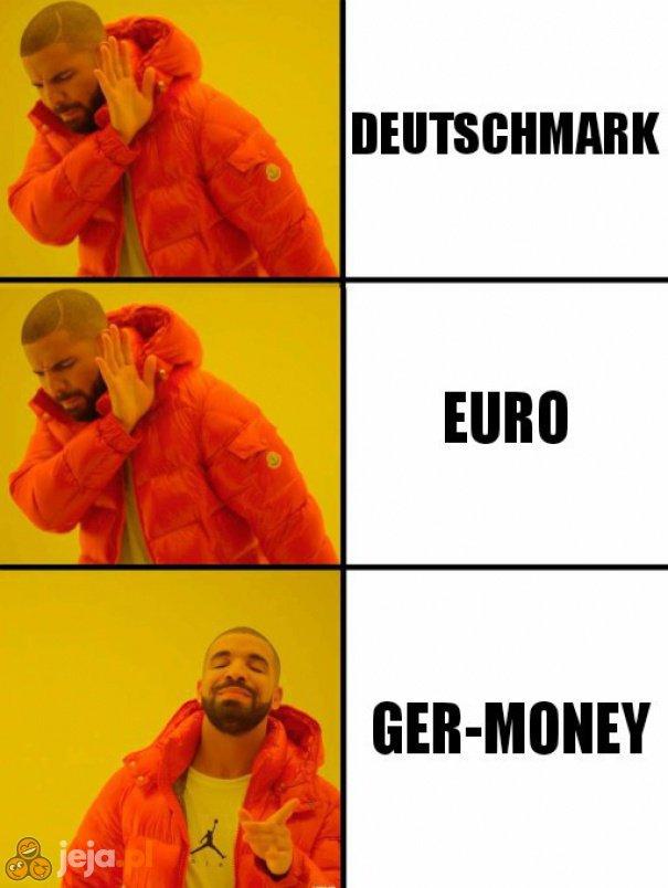 Niemieckie pieniążki