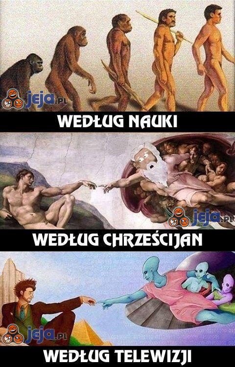 Ewolucja według...