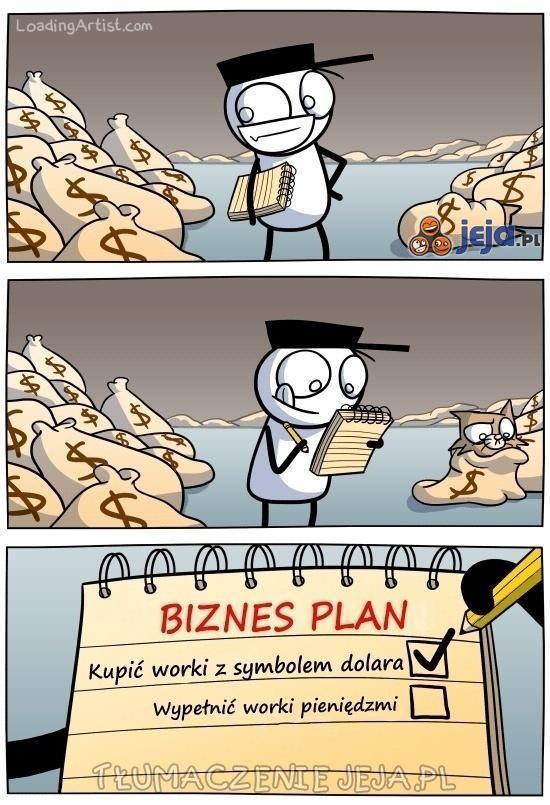 Podstawa to dobry biznes plan