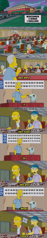Starość nie radość... bingo!