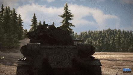 Dynamiczna zagrywka przy użyciu czołgu