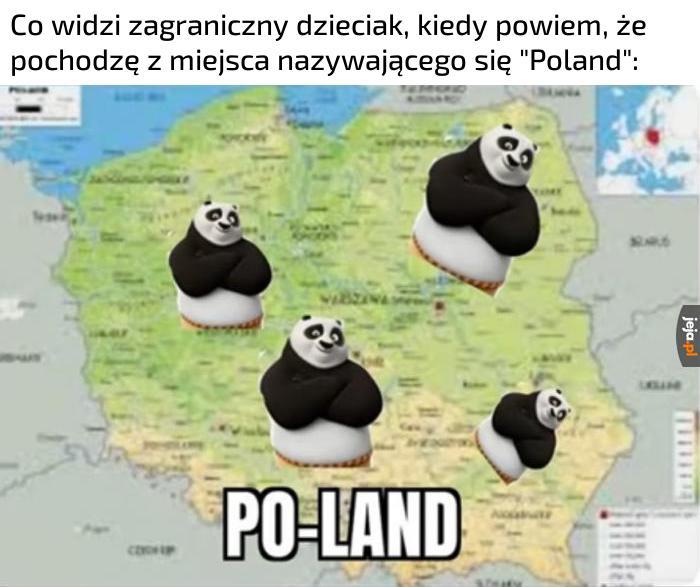 Ale u nas nie ma nawet żadnych pand