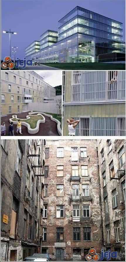 Więzienie w Austrii, a mieszkania w Polsce