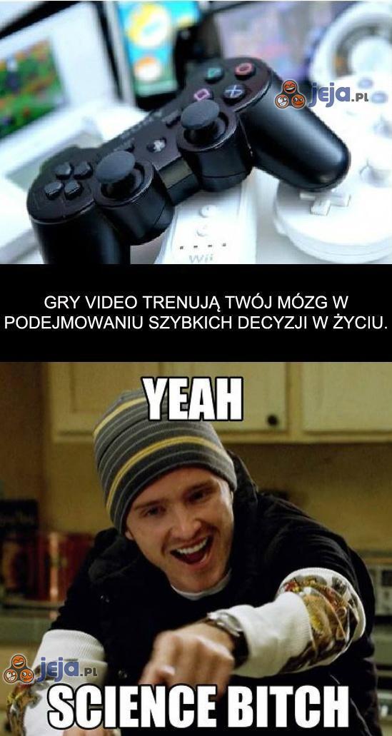 Kto powiedział, że gry są głupie? No kto?!