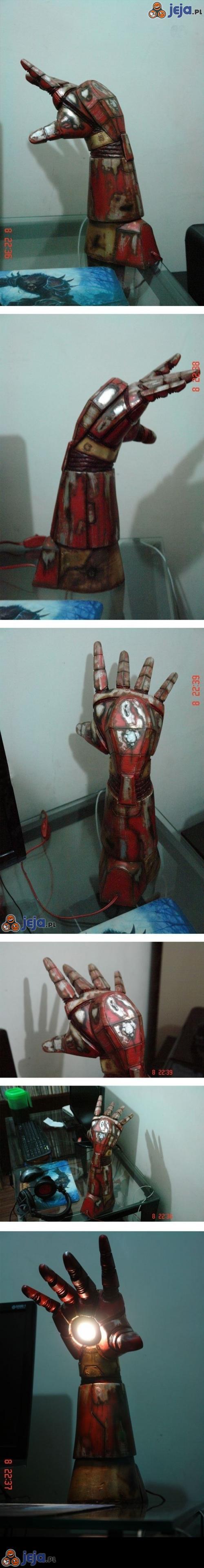 Rękawica Iron Mana - lampka nocna