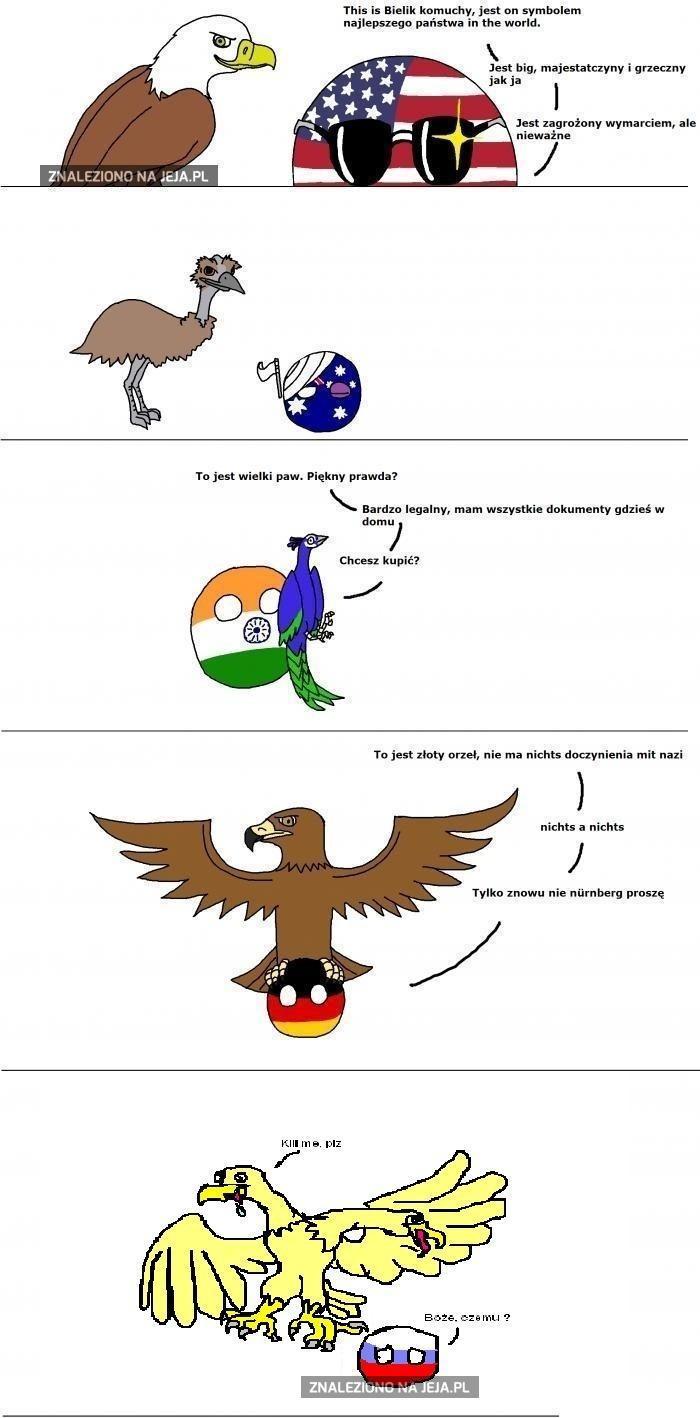 Nacjonalne ptaki II