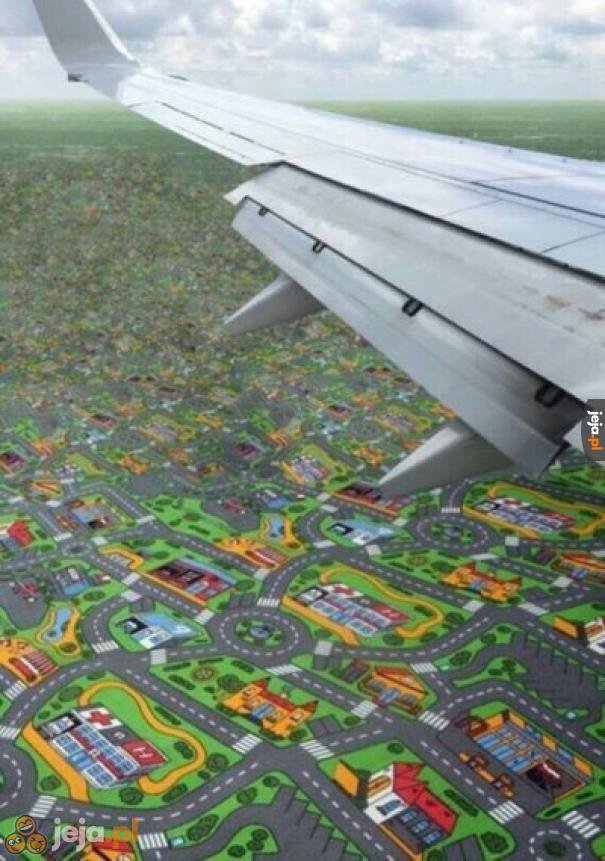 Lot podczas kwarantanny