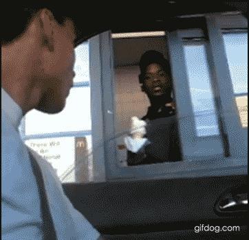 Proszę, oto lody...
