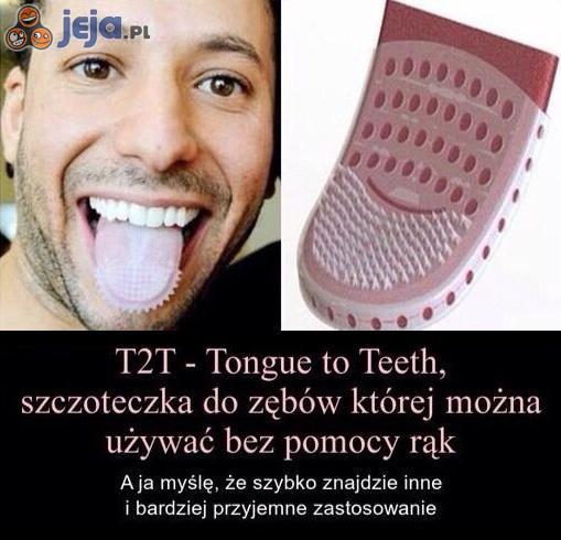 Szczoteczka na język?